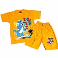 Kaos Anak/Baju Setelan Karakter Lucu