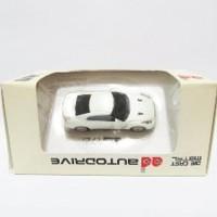Flashdisk Miniatur Mobil Tipe Nissan GTR 4 GB White Berkualitas