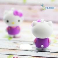 usb flashdisk 4 GB berbentuk hello kitty gaun ungu Limited