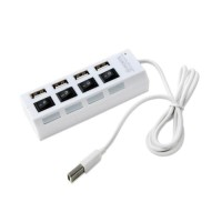 Usb Hub Saklar 4 Port On/Off