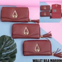 Tas Wallet Billa Maroon
