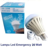 Bohlam Sentuh nyala SX- 20 watt Emergancy Led