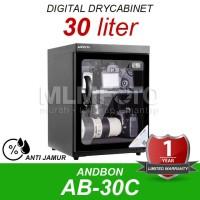 Dry Box Dry Cabinet ANDBON AB-30C Digital Drybox Drycabinet 30 liter