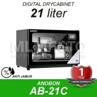 Dry Box Dry Cabinet ANDBON AB-21C Digital Drybox Drycabinet 21 liter