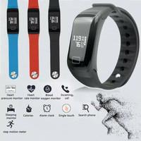 F1 Wearfit Smartwatch Gelang Kesehatan / Jam Tangan Kesehatan