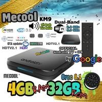 AndroidTV OS - 4GB RAM 32GB ROM TV Box (4/32) Oreo 8.1 - Mecool KM9