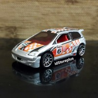 DIECAST HOT WHEELS HONDA CIVIC SILVER 2003 FIRST EDITIONS - Loose