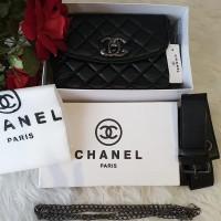 Taste fashion chanel bag 3in1 slingbag waistbag slempang