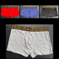 Celana Dalam Boxer Trunk Basic Jeans Couture [ VERSACE ] Original