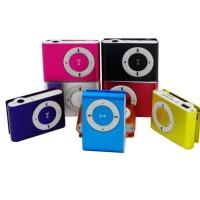 MP3 PLAYER JEPIT MERK / MUSIC PLAYER MICRO SD - HLP005 - Hijau