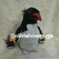 boneka penguin jambul boneka pinguin jambul