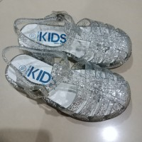 Cotton on kids glitter silver shoes