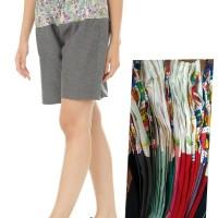 celana pendek santai dewasa batik abstrak size 30-33