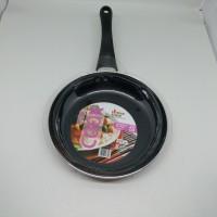 Kitchen House Cyprus Fry Pan Induction Teflon Induksi 20cm PINK 20 cm