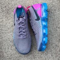 76edba26fe83 Nike Air Vapormax 2.0 Gunsmoke Grey Pink Blue Premium Quality