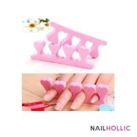 Nail separator sponge / manicure