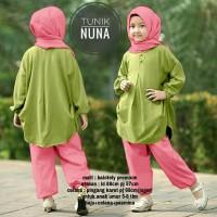 Baju Muslim Gamis Anak Perempuan NUNA #1