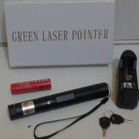BARU STOK TERBARU Senter Green Laser Pointer Recharge 303 10KM 1 Mata