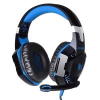 Harga kotion each g2000 gaming headset super bass with led light black   Pembandingharga.com