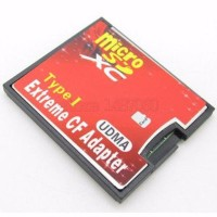 STOK TERBATAS Extreme Micro SD Card to CF Adapter Converter hp mu