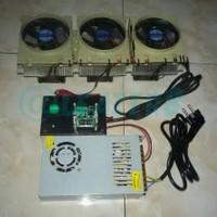 Jual Dijual Cooling Fan 3 Peltier Mesin Kulkas Mini Murah Murah