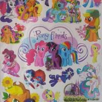 Jual Stiker Dinding Wall Stickers Wallpaper 3d My Little Pony 60x90 Kab Pati Susmunolshop Tokopedia