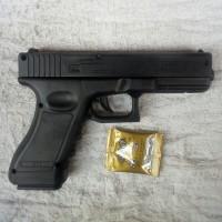Pistol Spring Handgun Glock-17 WGG 6MM /BB 6MM