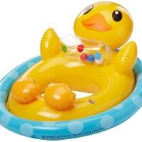 Pelampung Renang Anak Bebek Duck Sit Pool Float - Intex 59570