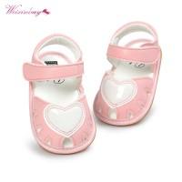 Sepatu Bayi Prewalker Bakiak Weixinbuy Lucu Indah Lembut Bawah Non-sli