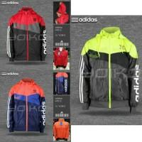Jaket Parasut Adidas Anti Air | Jaket Motor