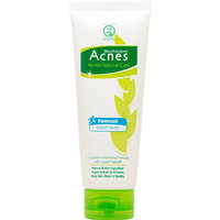 Acnes Natural Care Yogurt Touch Face Wash 50gr