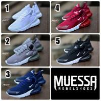 Sepatu Pria Nike Airmax 270 Sneakers Kasual Olahraga Sport Running GO