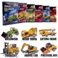 Puzzle 3D Transportasi Series Children Education Toy Mainan Edukasi