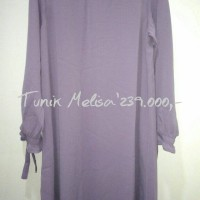 baju atasan wanita Tunik Melisa By elzatta Hijab