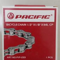 Rantai chrome CP sepeda anak BMX fixie pacific
