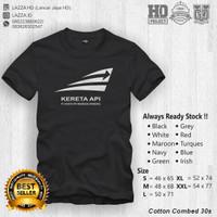 Kaos / Baju / T-shirt PT. KAI Kereta Keren Murah Fashion Pria Wanita