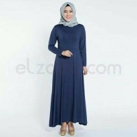 Baju Gamis Wanita polos Azra By elzatta Hijab