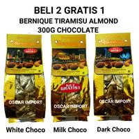 BELI 2 GRATIS 1 BERNIQUE SINGAPORE TIRAMISU CHOCOLATE 300G GOLD BAG