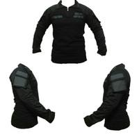 baju kaos tactical hitam combat shirt blackhawk bdu