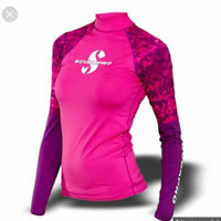 Scubapro Rash Guard Flamingo Long Sleeve Woman UPF50