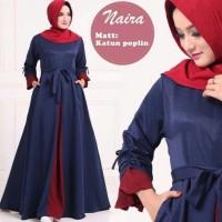 AF Maxi dress casual /Gamis Casual /Baju Muslim Terbaru Maira