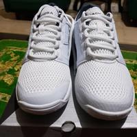 Sepatu pria merk Diadora Forhen Original warna white grey