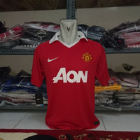 Jersey Retro A3 AAA Manchester United MU home AON 2010 2011 size M