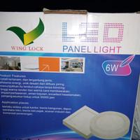 led lampu panel 6 watt outbow merk winglock