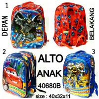 Tas ransel sekolah Cowok Alto anak 40680B tas anak murah dan terbaru
