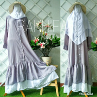 Maxi dress wolfis rempel (ONLY GAMIS)