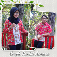 couple batik/baju couple/seragam batik/seragam kantor/sarimbitan/jogja