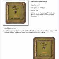 Skinfood Gold Caviar Cream SAMPLE