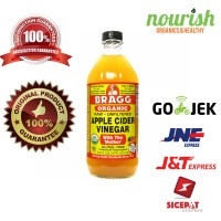Organic Apple Cider Vinegar with The 'Mother', Raw-Unfiltered (473 ml)