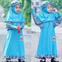 koleksi baju gamis muslim anak trendy I toko baju anak muslim I Fiola